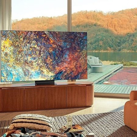 Samsung QN90A Neo QLED 4K 2021 metų Smart televizorius