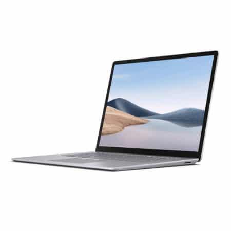 Microsoft Surface Laptop 4 15 Platinum metal nešiojamas kompiuteris