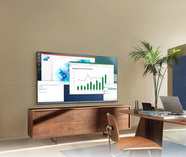 Samsung QLED 4K UHD Q60A Smart televizorius vizualiai