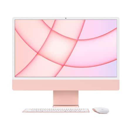 Apple iMac 24 M1 2021 Pink viskas viename kompiuteris