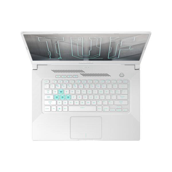 ASUS TUF Dash F15 Moonlight White nešiojamasis kompiuteris