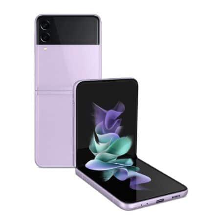 Samsung Galaxy Z Flip3 5G levandų spalva