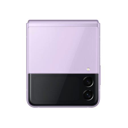 Samsung Galaxy Z Flip3 5G levandų spalva ir kompaktiškumas