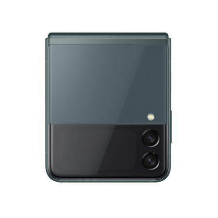 Samsung Galaxy Z Flip3 5G žalia spalva ir kompaktiškumas