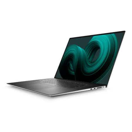 Dell XPS 17 (9710, Platinum Silver) itin našus nešiojamasis kompiuteris