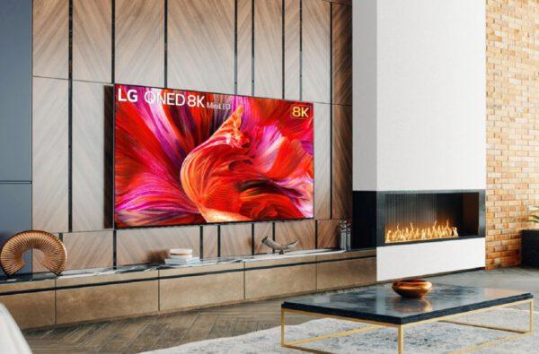 LG QNED963PA QNED 8K televizorius vizualiai