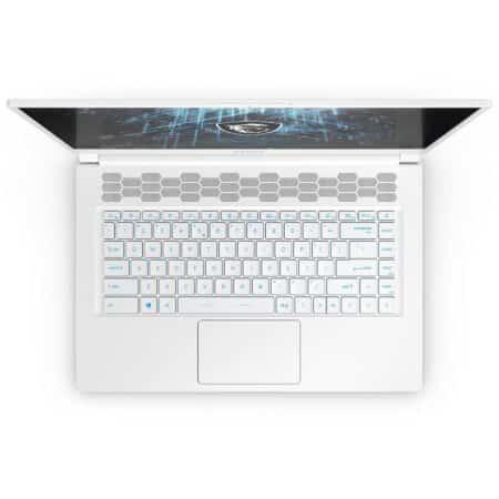 MSI Stealth 15M A11UEK balta spalva itin lengvas nešiojamasis kompiuteris