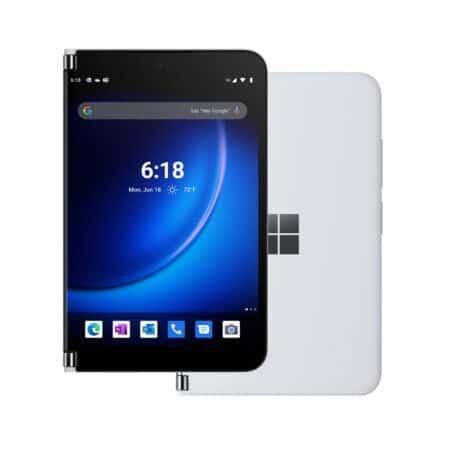 Microsoft Surface Duo 2 Glacier sulankstomas įrenginys