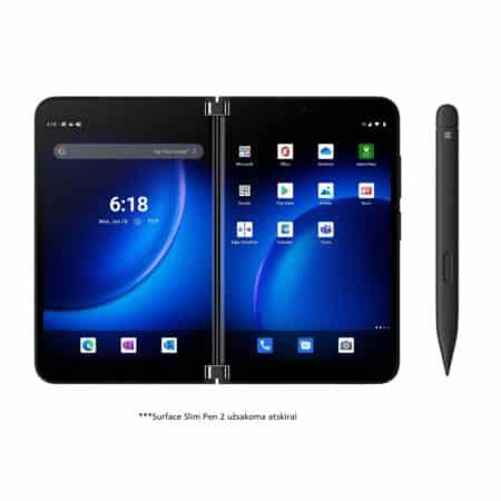 Microsoft Surface Duo 2 Obsidian sulankstomas įrenginys
