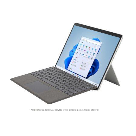 Microsoft Surface Pro 8 Platinum planšetinis kompiuteris