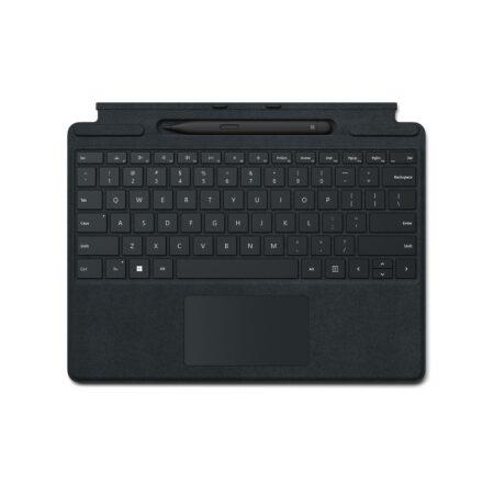 Microsoft Surface Pro Signature keyboard su Slim Pen2 Black klaviatūra ir rašiklis