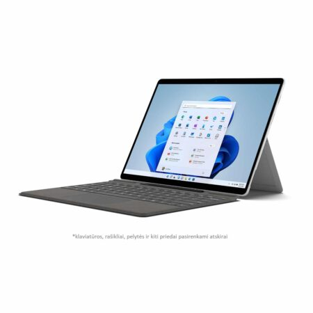 Microsoft Surface Pro X 2021 Platinum kompiuteris